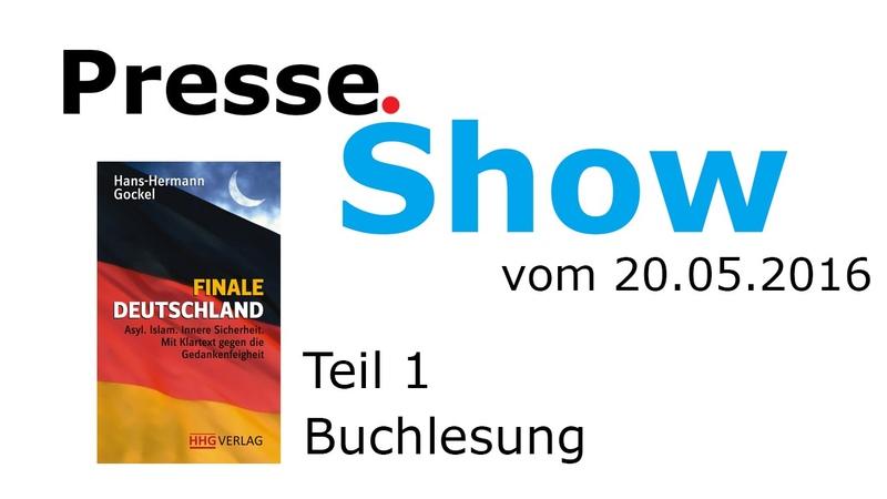 Nostalgie-Video: Presse.Show   Teil 1   Buchlesung   20.05.2016