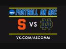 NCAAF Syracuse VS Notre Dame