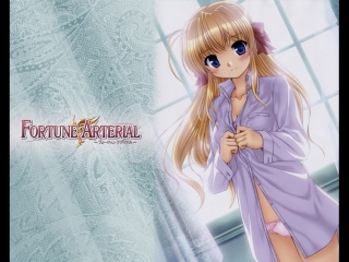 Развилка фортуны (9 серия) Fortune Arterial: Akai yakusoku, мультсериал