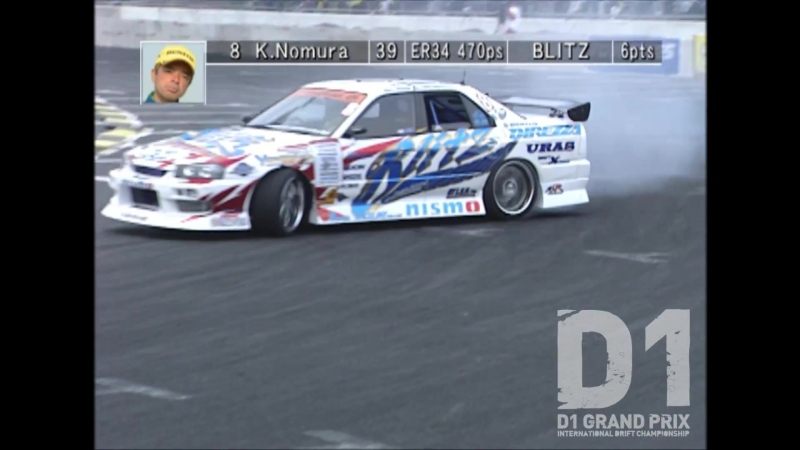 D1GP 2005 Rd.2 at Odaiba 1.