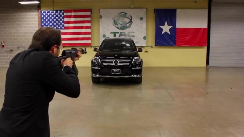 Бронированный Mercedes-Benz GL-Class