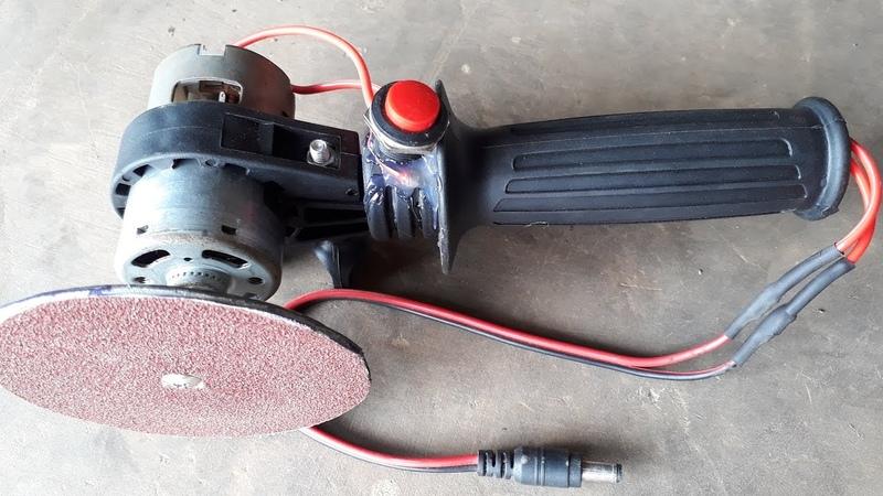 Làm máy mài mini SIÊU KHỎE từ moto 775 _v1 | How to Make a Disc Sander / Grinder at Home