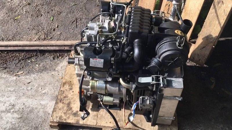 Двигатель Kipor 2V80 Ч14