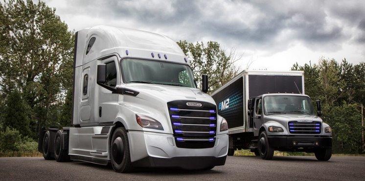 Freightliner eCascadia и eM2: Daimler запускает в серию тяжелые электрогрузовики.