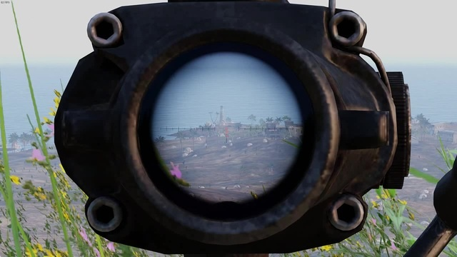 ARMA 3- HMG взрыв бк
