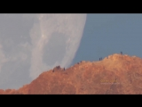 Mооn Sеtting Behind Теide Volcano