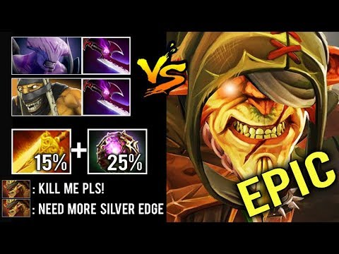 EPIC SHIT 40% LIFESTEAL vs Silver Edge Team Push Strat Craziest Gameplay Comeback by farewell Dota 2