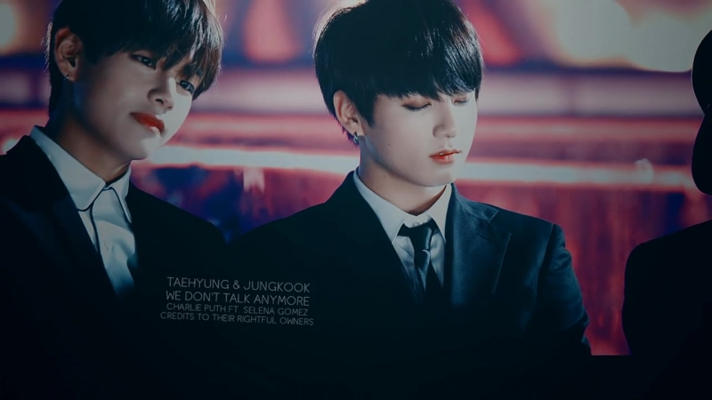 Taekook ● we dont talk anymore