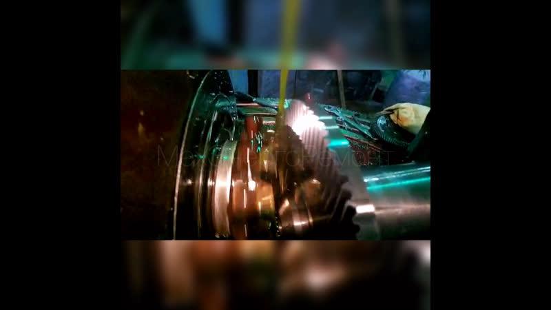 Нарезание гипербалоидной шестерни | МехЭнергояремонт | СПб
