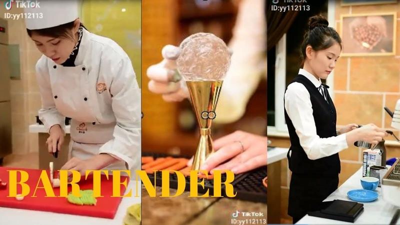 Khi Đầu Bếp Xuất Chiêu Cao Siêu Hay Đáng Yêu p1 - Bartender Tik Tok Asia