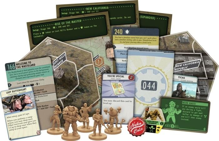 Студия Bethesda анонсировала дополнение для настольной игры по Fallout под названием New California — оно добавит новые локации и лут на карте, а также пять новых героев и два сценария.