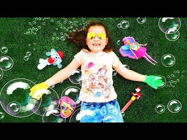 Мыльные Пузыри 💕 Кукла Барби Дримтопия 💓 Развлечения для Детей Barbie Dreamtopia