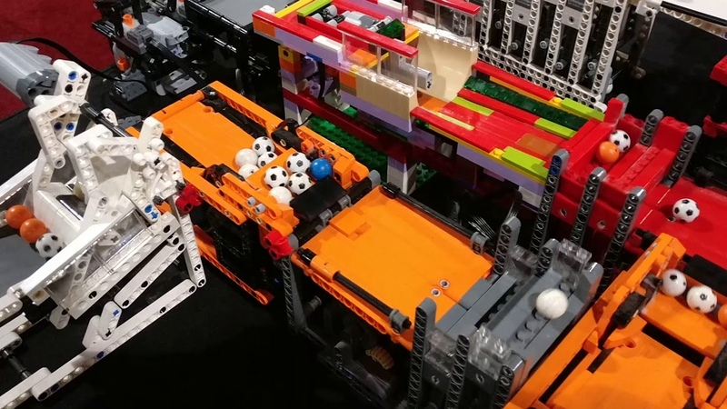LEGO World NL 2017 Great Ball Contraption GBC circuit