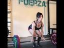 Мариса Инда тянет 185 кг