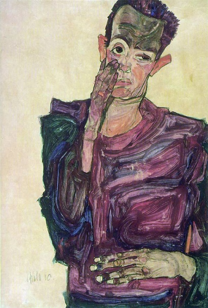 Коллекция автопортретов - Эгон Шиле