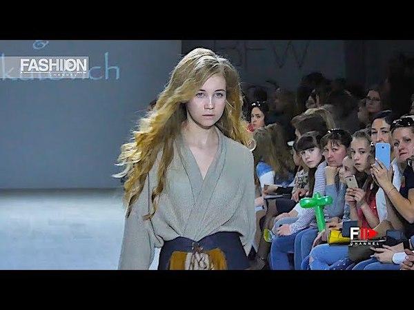 CRYSTAL NYMPH Belarus Fashion Week Fall 2018 2019 - Fashion Channel
