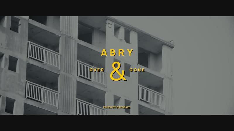 ABRY Over Gone Feat 넋업샨 of 소울다이브 Official M V