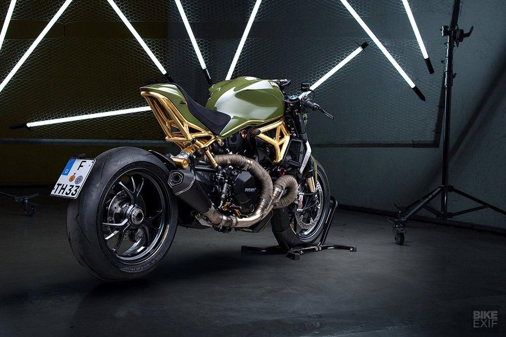 Diamond Atelier: кастом Ducati Monster 1200R