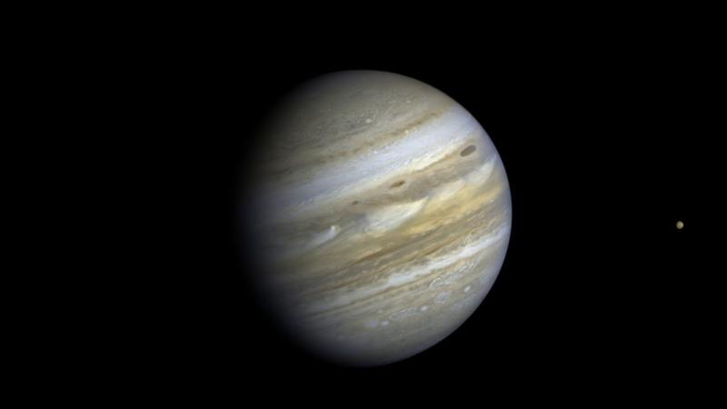 5 Jovian Days The Voyager 2 Jupiter Rotation Movie