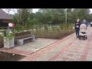 Ветренная прогулка по только что открытому в Волхове Молодежному бульвару