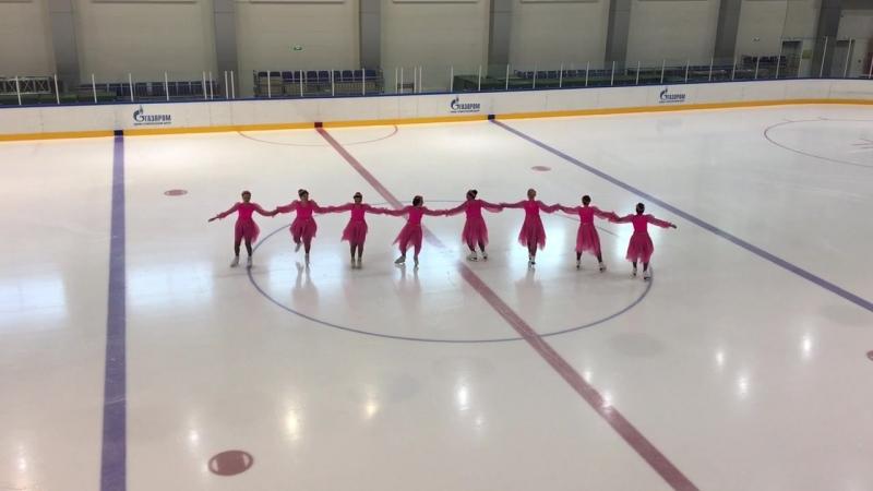 Студия танца на льду «Алекс», категория Взрослые - Вальс.
