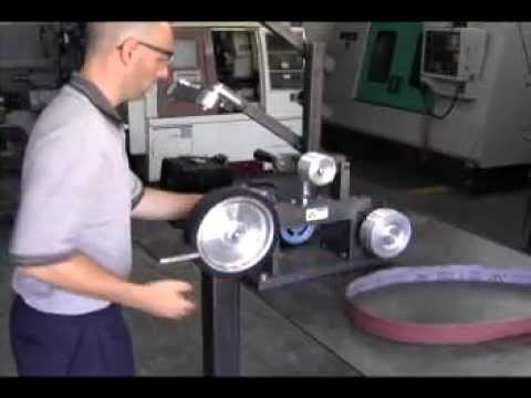 KMG Belt Grinder from Beaumont Metal Works, Inc
