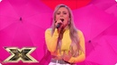 Molly Scott belts out BTS' Fake Love | Live Shows Week 1 | The X Factor UK 2018