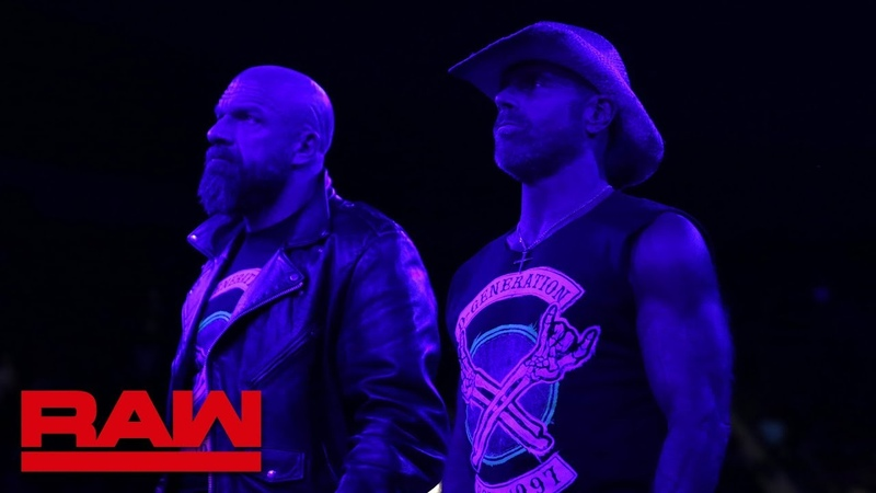 D-Generation X break it down for The Brothers of Destruction: Raw, Oct. 22, 2018