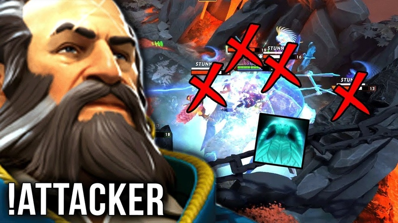 !Attacker Kunkka The Lord is Back - Ghost Ship on 4 - Dota 2