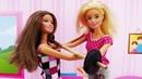 Барби занимается спортом - Видео с куклами