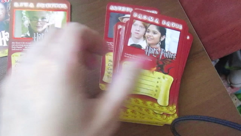 Карточная игра Top trumps Specials: Harry Potter and the Goblet Of Fire.