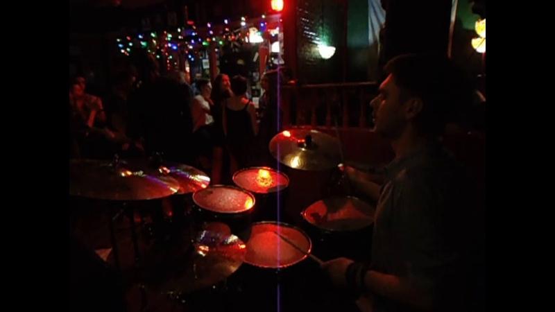 Blue suede shoes drum cam Max Fomenko