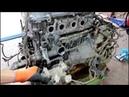 Большой расход масла сборка двигателя 7часть Toyota Caldina 2003 Тойота Калдина 2,0