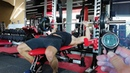 Жим лёжа 100 кг на 400 раз за 16.09.04! 4×100!