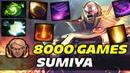 SumiYa 8000 Games TOP INVOKER Dota 2