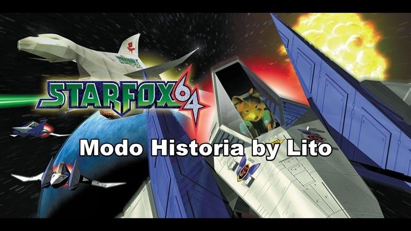 Star Fox 64 Gameplay Historia por Lito (Edicion Japonesa)