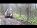 подьем к перевалу Дятлова тайга