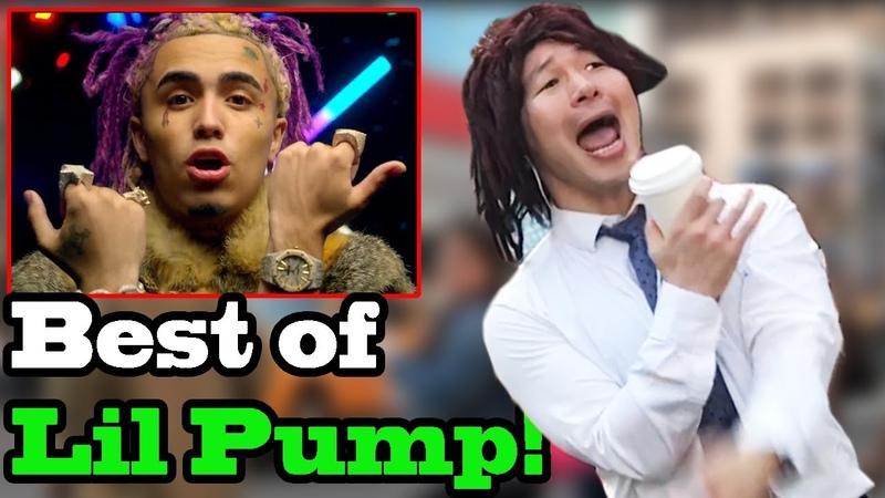 LIL PUMP - BEST OF (Gucci Gang, Esketit, Drug Addicts, Boss) - SINGING IN PUBLIC!!