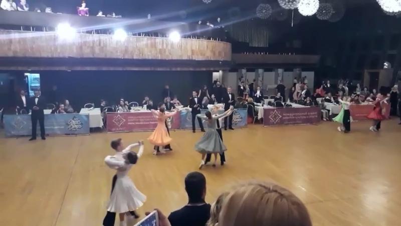 YALTA CUP 2018 ювеналы 2 стандарт Даниэль и Лиза 2 место