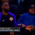 "Bleacher Report on Instagram: ""Lance got Bron strumming the 🎸"""