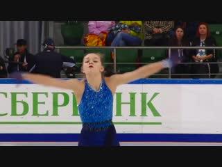 Анна Тарусина - КП - 3-й этап Кубка России Рoстелекoм 2018/2019, MC