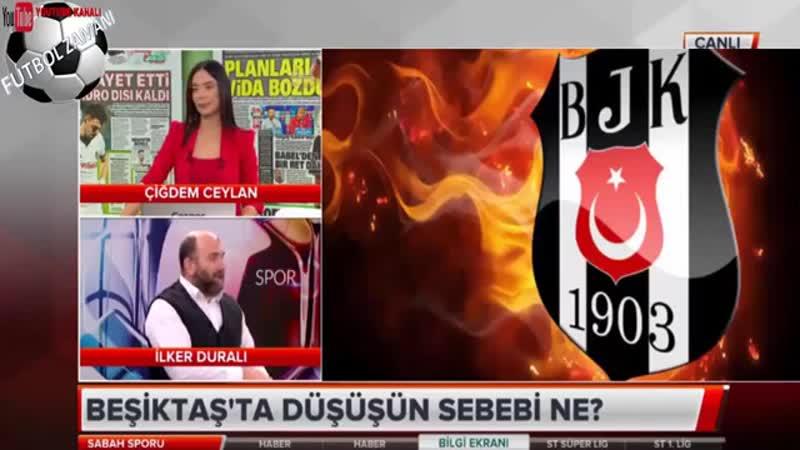 Beşiktaşın Cenk Tosun sevdası bitmiyor! Sabah Sporu 15 Kasım 2018