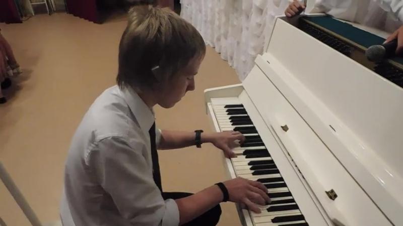 _Вечная любовь_ (вокально-инструментальная композиция). Художественный руководитель - Алексей Рудаков.
