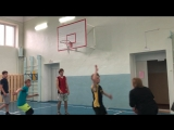 Товарищеский матч по баскетболу