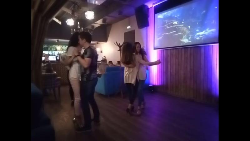 Вечеринка в кафе Main Street 20.05.2018 - зук Диана Аня, кизомба