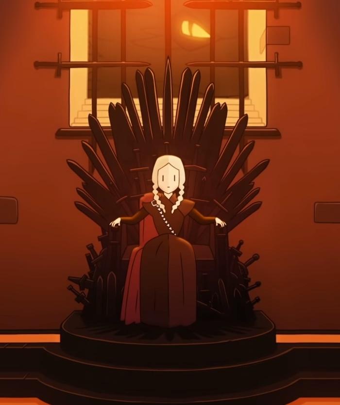 Дейнерис из рода Таргариенов вReigns: Game of Thrones