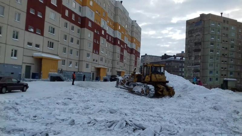Подготовка к весне Норильск (Кайеркан)