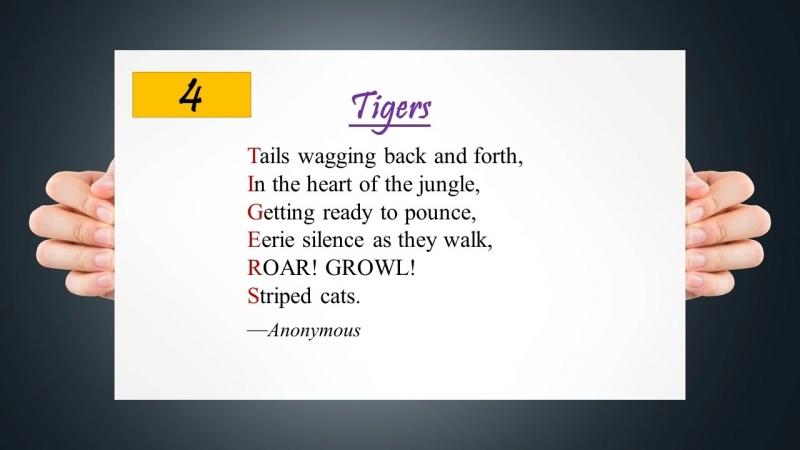 Acrostic Poem for Kids