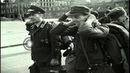 American soldiers enter a city and take the Germans as prisoners in Germany Stock Footage