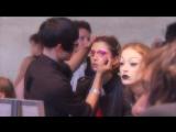 John Galliano &amp Christian Dior - Осень-Зима 2007-2008 Paris (За кулисами)